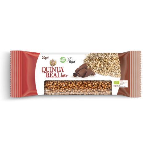Organic quinoa real & cocoa bar