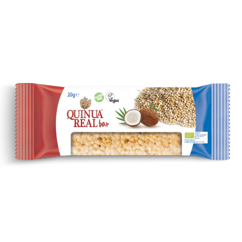 Organic quinoa real & coconut  bar