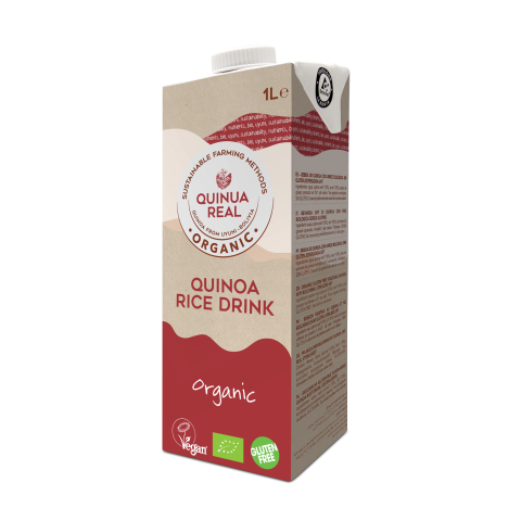 Organic quinoa real & rice drink