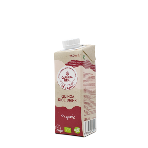 Organic quinoa real & rice mini drink