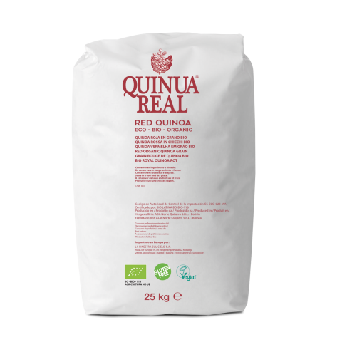 Organic red quinoa real 25 kg