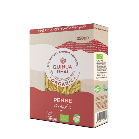 Organic quinoa real & rice penne
